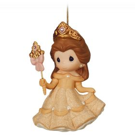 Disney Belle Figurine Ornament by Precious Moments