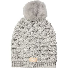 UGG Cable Pom Beanie - Women's