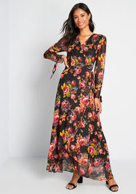 Betsey Johnson Betsey Johnson So Wrapped Up Maxi D