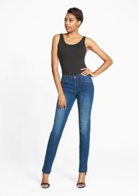 Tall Slim Boyfriend Raw Edge Jeans