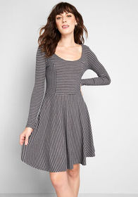 ModCloth ModCloth Weekend Plans Fit and Flare Dres