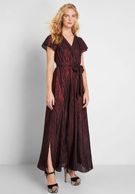 ModCloth ModCloth Your Time to Shine Striped Maxi