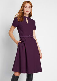 ModCloth ModCloth Most Motivated Short Sleeve Dres