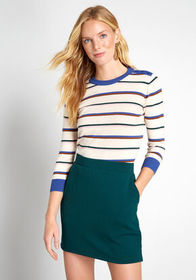 ModCloth ModCloth Charter School Pullover Sweater