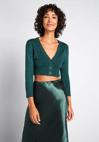 ModCloth ModCloth The Dream of the Crop Cardigan D