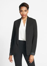 Tall Stretch Crepe Blazer