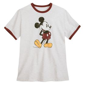 Disney Mickey Mouse Ringer T-Shirt for Men