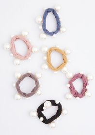 Hair and There Scrunchie Set Multi