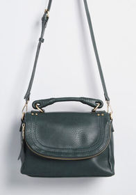 ModCloth ModCloth Handle It Well Satchel in Forest