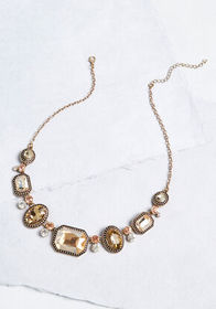 Your Majesty Statement Necklace Pink