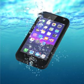 Water-Resistant Hybrid Full Cover Case For iPhone