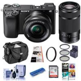 Sony Alpha a6100 Mirrorless Camera with 16-50mm &