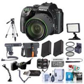 Pentax K-70 DSLR with 18-135mm WR Lens and Pro Kit
