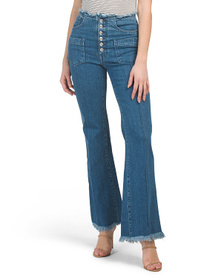 7 FOR ALL MANKIND Made In Italy Triple Button Flar