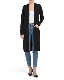 CYRUS Fine Gauge Duster Cardigan With Pockets