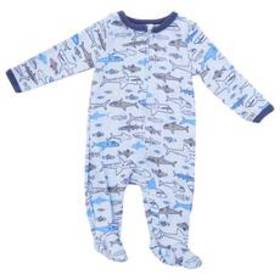 Baby Boy (NB-9M) Baby Emporio Sharks & Fish Print