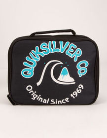 QUIKSILVER Black Lunch Box_
