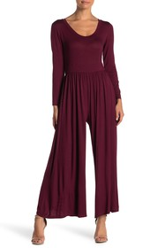WEST KEI Knit Scoop Neck Jumpsuit (Petite)