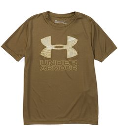 Under Armour Big Boys 8-20 Short-Sleeve Print Fill