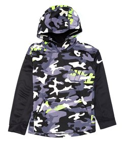 Nike Big Boys 8-20 Therma Camo Pullover Hoodie