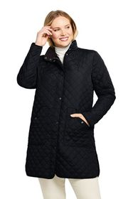 Lands End Women's Insulated Quilted Barn Coat