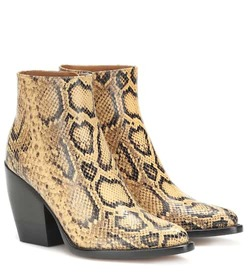 Chloé Exclusive to Mytheresa – Rylee snake-effect