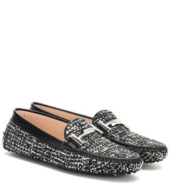 Tod's Exclusive to Mytheresa – Gommino tweed loafe