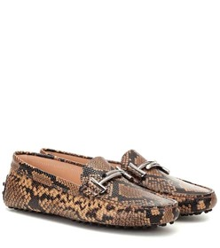 Tod's Exclusive to Mytheresa – Gommino snake-effec