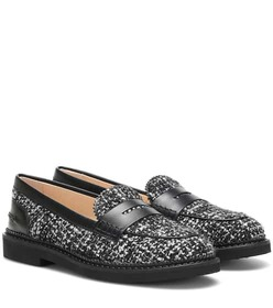 Tod's Exclusive to Mytheresa – tweed loafers