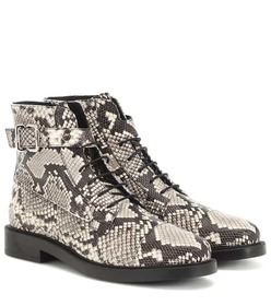 Tod's Embossed leather ankle boots