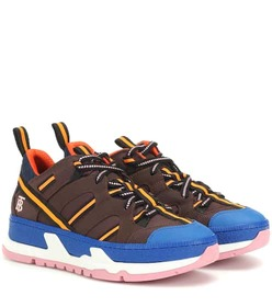 Burberry RS5 leather-trimmed sneakers