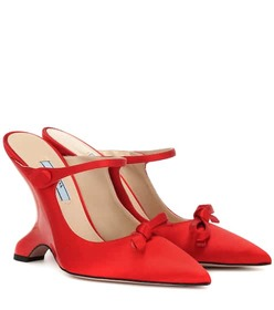 Prada Satin pumps
