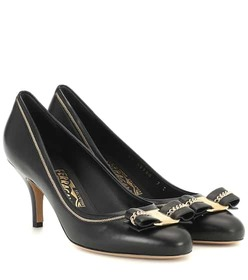 Salvatore Ferragamo Carla 70 leather pumps