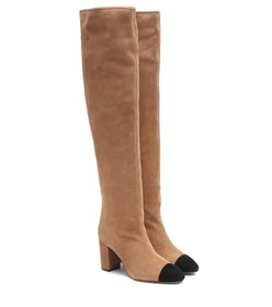 Stuart Weitzman Kimberly suede over-the-knee boots