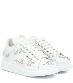 Alexander McQueen Oversized studded leather sneake