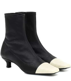 By Far Karl leather ankle boots