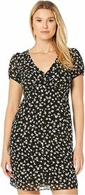 MICHAEL Michael Kors Tossed Lilies V-Neck Dress