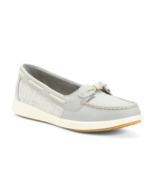 SPERRY Premium Leather Lightweight Boat Shoes