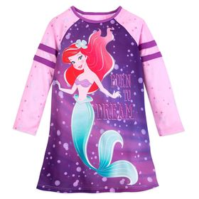 Disney Ariel Long Sleeve Nightshirt for Girls