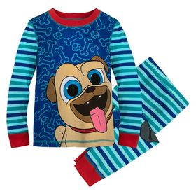 Disney Rolly and Bingo PJ PALS for Boys – Puppy Do