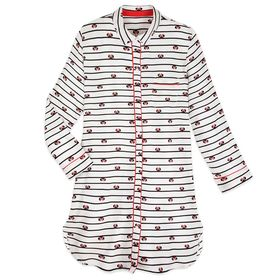 Disney Minnie Mouse Striped Nightshirt for Women