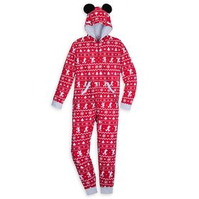 Disney Mickey Mouse Bodysuit Pajama for Adults