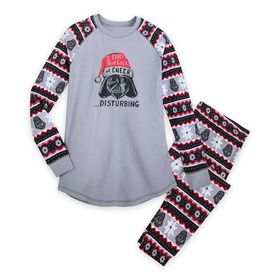 Disney Darth Vader Holiday Pajama Set for Women by