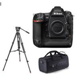 Nikon D5 DSLR CF Version Body With Sachtler 1001 T