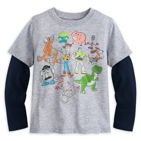 Disney Toy Story 4 Layered T-Shirt for Kids