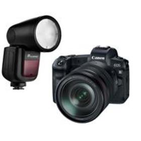 Canon EOS R with RF 24-105mm Lens and Flashpoint Z