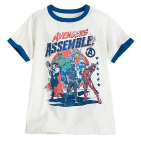 Disney Avengers Ringer T-Shirt for Boys