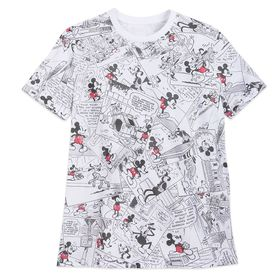 Disney Mickey Mouse Comic Strip T-Shirt for Men