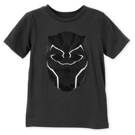 Disney Black Panther Mask T-Shirt for Kids