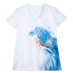 Disney Elsa and Nokk T-Shirt for Women – Frozen 2